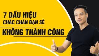 7 DẤU HIỆU CHẮC CHẮN BẠN SẼ KHÔNG GIÀU   Phát triển bản thân   Thai Pham