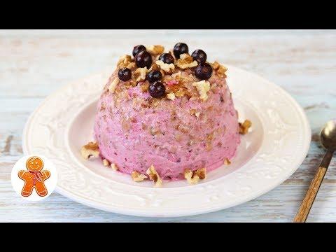 Творожно-Ягодный Десерт на Скорую Руку ✧ Творожное Мороженое