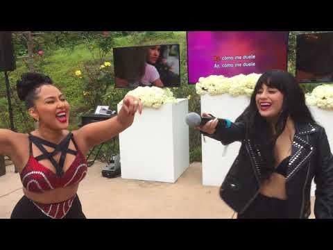 Fifth Harmony's Ally Brooke & The Real's Adrienne Bailon Perform Selena's Como La Flor LIVE!