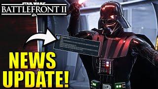 Star Wars Battlefront 2 NEWS! - New Update Details Revealed, Battlefront 2 Petition and More!
