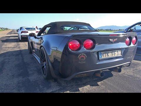 595hp Chevrolet Tikt Performance Corvette C6 Acceleration Sounds