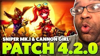 NEW MONSTERS : SNIPER MK.I & CANNON GIRL | SUMMONERS WAR PATCH 4.2.0 IS LIVE!!