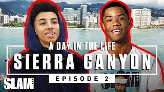 Cassius Stanley & Sierra Canyon got WAVEY in Hawaii 🏄🏾♂️ | SLAM Day in the Life