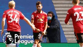 Bruno Fernandes wins it for Man United with last kick v. Brighton | Premier League | NBC Sports