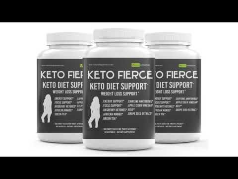 KETO FIERCE – Keto Weight Loss Supplements 1