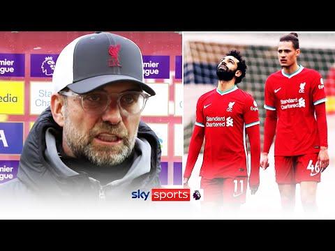 Jurgen Klopp reacts to Liverpool's sixth straight home defeat