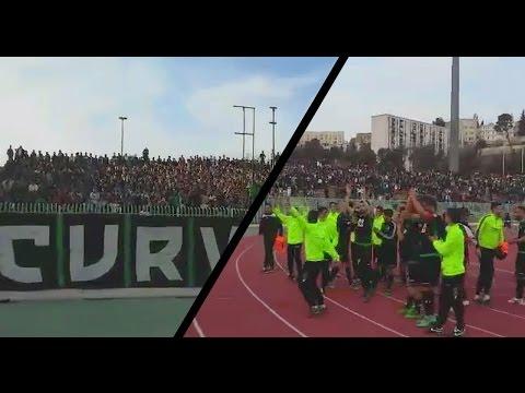 CSC 2-1 CRB : Tifo et ambiance des supporters