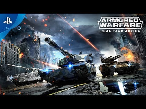 Armored Warfare Game Ps4 Playstation