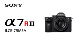 Product Feature | Alpha 7R III (ILCE-7RM3A) | Sony | α