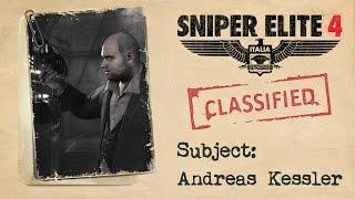 """Sniper Elite 4 - Fascicolo Intel di """"Andreas Kessler"""""""