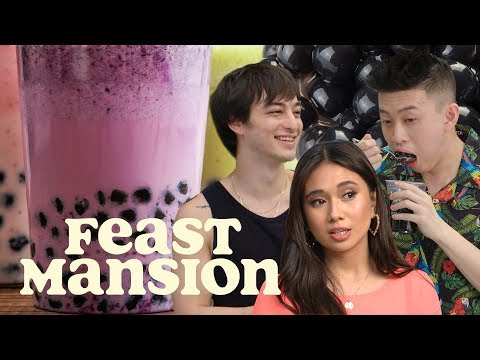Feast Mansion S1: E#12 - Joji Judges a Boba Tea Battle Between Rich Brian and NIKI | Feast Mansion