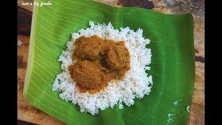 mutton keema balls curry.!!!||||Kaima Unde Saaru|| meat balls curry