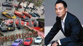 """Quyền lực""""siêu khủng""""của Nhậm Đạt Hoa -Trùm xã hội đen Hong Kong và loạt siêu sao cũng phải kiêng nể"""