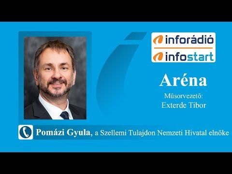 InfoRádió - Aréna - Pomázi Gyula - 2020.07.08.