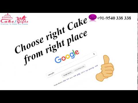 Make cake order for Pune via CakenGifts.in