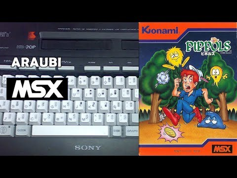 Pippols (Konami, 1985) MSX [192] Walkthrough Comentado