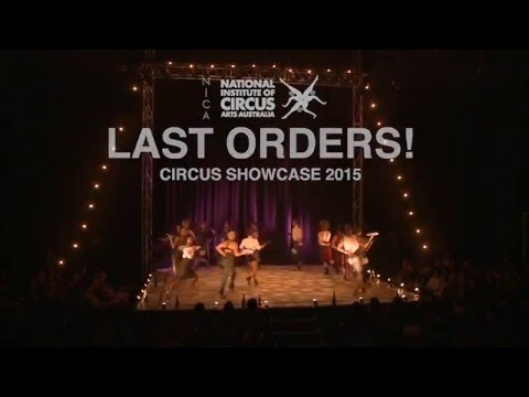 LAST ORDERS! Circus Showcase 2015