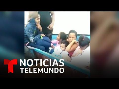 Llegan a Trinidad y Tobago 16 niños venezolanos que fueron deportados de la isla