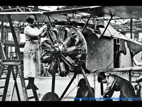 Kingston Aviation Story Part 2 - The First World War 1914 - 1918 (Running time 29 minutes)