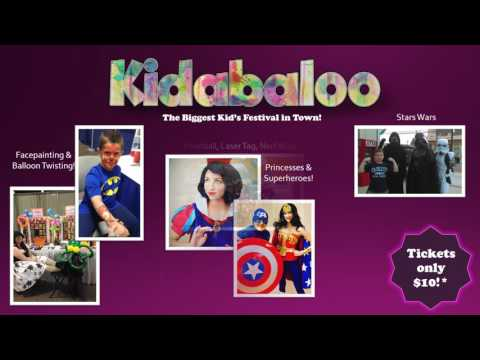 Kidabaloo- February 25 at Boardwalk Hall