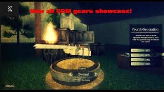 All ODM gears Showcase (Attack on titan Last Breath)