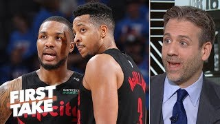 Lillard, McCollum aren't scared to go down 0-1 to the Warriors – Max Kellerman | First Take