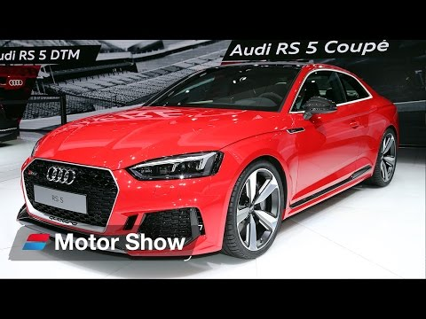 New Audi RS 5  - Geneva Motor Show 2017