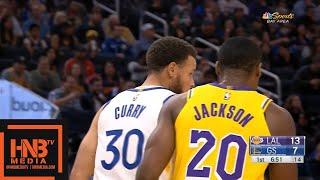 LA Lakers vs  GS Warriors 1st Qtr Highlights | October 18, 2019 NBA Preseason