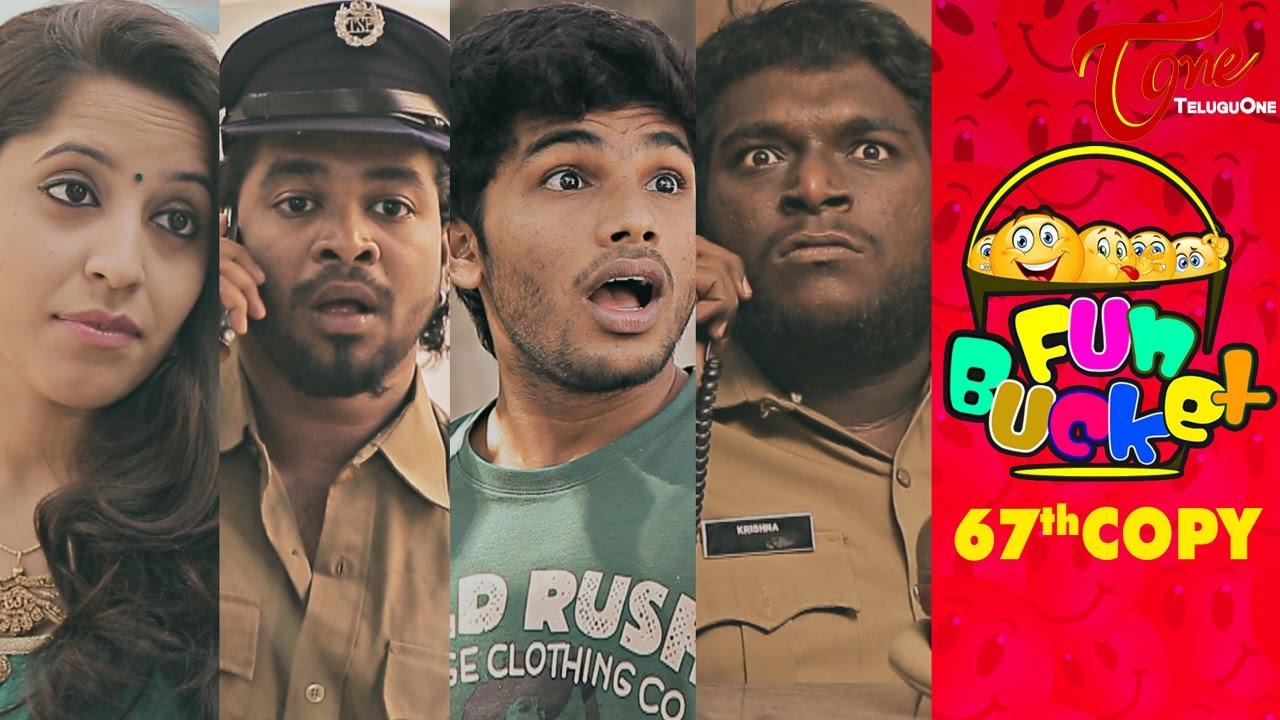Fun Bucket | 67th Copy | Funny Videos | by Harsha Annavarapu