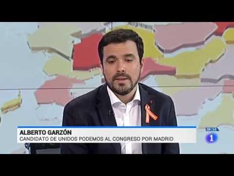 """Entrevista a Alberto Garzón en """"Los desayunos de TVE"""" (TVE 14.06.2016)"""