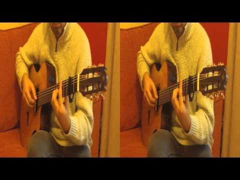 Streets of London played on guitar