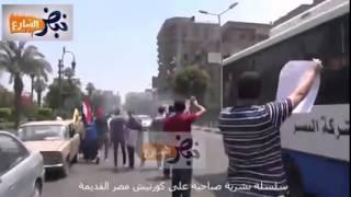 سلسة بشرية صباحية على كورنيش مصر القديمة الجمعة 5/6/2015     -