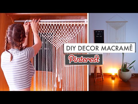 DIY Macrame Pinterest Decor