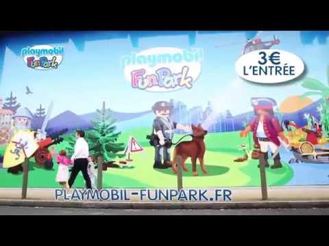PLAYMOBIL FunPark Paris, tous les PLAYMOBIL à ta disposition !