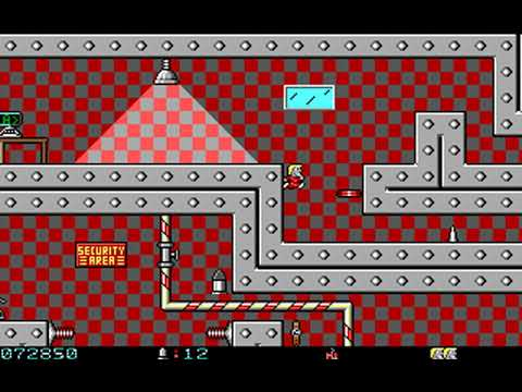 Secret Agent (Episode 1: The Hunt for Red Rock Rover) (Apogee) (MS-DOS) [1992] [PC Longplay]
