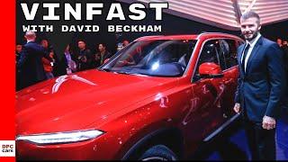Vinfast Sedan and SUV Unveiling With David Beckham