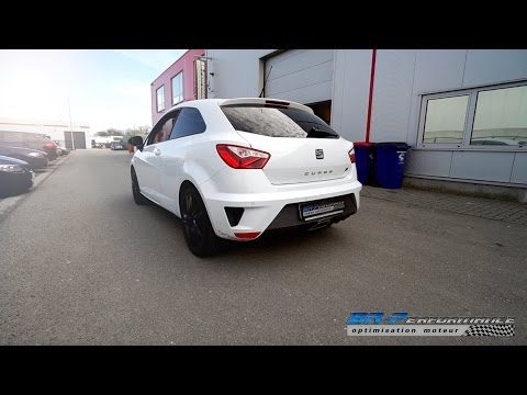 Seat Ibiza Cupra 1.8 TSi Stage 1 with Supersprint Cat-back by BR-Performance