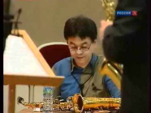 Нобуа Сугава в Москве