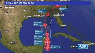 Tropical update 10/6/2018: Potential Tropical Cyclone 14