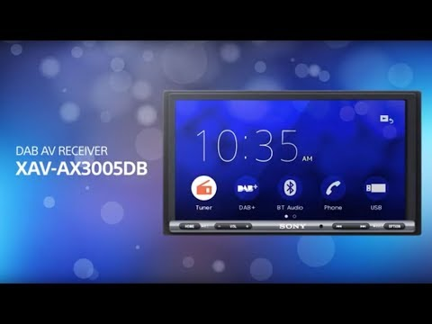 Sony XAV-AX3005DB Apple CarPlay & Android Auto™ DAB Receiver