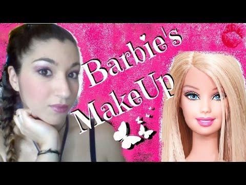 Barbie Makeup Tutorial Barbie 39 s Make up Tutorial
