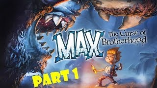 Let's Play Max: The Curse of Brotherhood - Part 1 - The Magic Marker (Xbox 1)