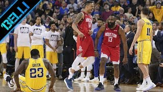 "James Harden ""ONNIPOTENTE!"" 44 Punti e tripla doppia vs Warriors (Live🎙A.Mamoli e D.Pessina)"