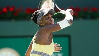 WTA R3 Highlights: V. Williams Vs. Safarova