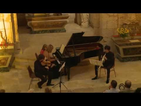 Mozart: Trio in Eb major KV 498 'Kegelstatt' - Trio Cézanne - 2/3