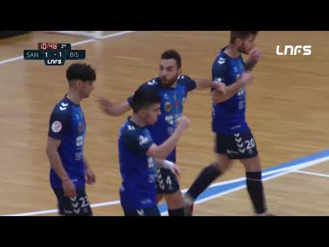 JERUBEX Santiago Futsal - Bisontes Castellón FS Jornada 6 Grupo D Segunda División Temp 20 21