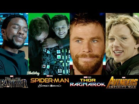 Marvel Cast Hilarious Bloopers and Gag Reel(Part-2)   Try Not To Laugh 2018