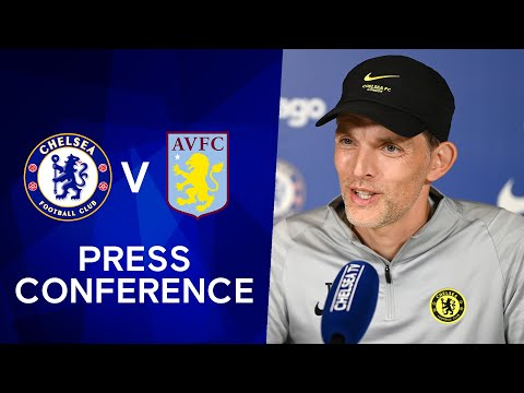 Thomas Tuchel Live Press Conference: Chelsea v Aston Villa | Carabao Cup