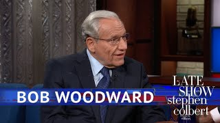 Bob Woodward: Let The Silence Suck Out The Truth