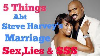 5 Things abt Steve & Marjorie Harvey's Marriage - Steve Harvey CUTS WIFE From Property. KRIS JENNER